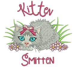 Kitten Smitten embroidery design