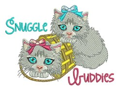 Snuggle Buddies embroidery design
