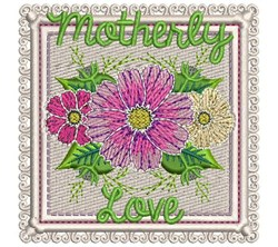 Motherly Love embroidery design