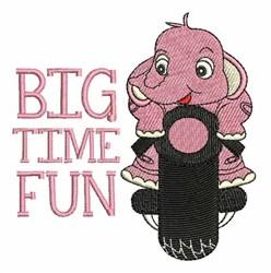 Big Time Fun embroidery design