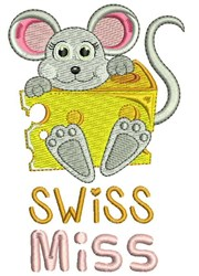 Swiss Miss embroidery design