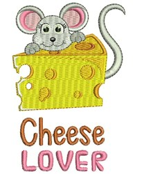 Cheese Lover embroidery design