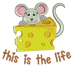 This Is The Life embroidery design