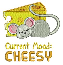 Curent Mood Cheesy embroidery design