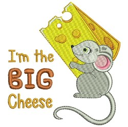 The Big Cheese embroidery design