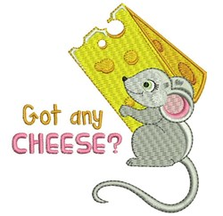 Got Any Cheese embroidery design