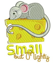 Small But Mighty embroidery design