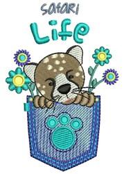 Safari Life embroidery design