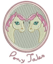 Pony Tales embroidery design