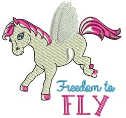 Freedom To Fly embroidery design
