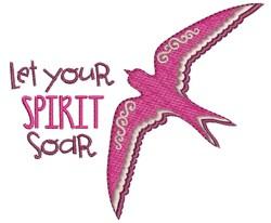 Let Spirit Soar embroidery design