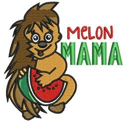 Melon Mama embroidery design