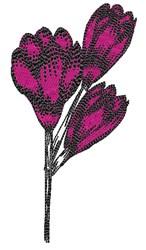 Tulip Bouquet embroidery design