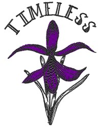 Timeless Bloom embroidery design