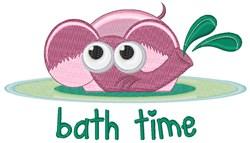 Bath Time embroidery design