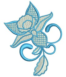 Buttercup Flower embroidery design