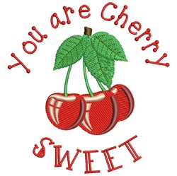You Are Cherry Sweet embroidery design