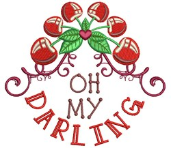 Oh My Darling embroidery design
