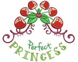 Perfect Princess embroidery design