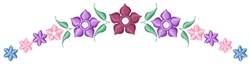 Floral Arch embroidery design