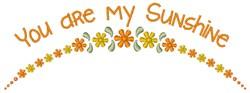 My Sunshine embroidery design