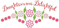 Delightful Daughters embroidery design