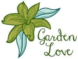 Garden Love embroidery design