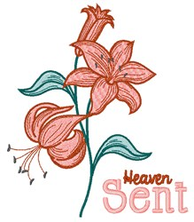 Heaven Sent embroidery design