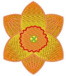 Daffodil Bloom embroidery design