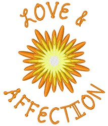 Love & Affection embroidery design