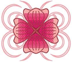 Poppy Flower embroidery design
