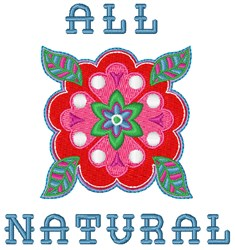All Nautral embroidery design