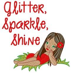 Glitter Shine embroidery design