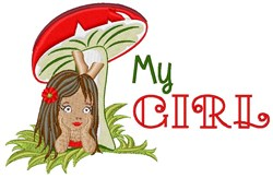 My Girl embroidery design