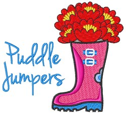 Puddle Jumpers embroidery design