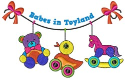 Babes In Toyland embroidery design
