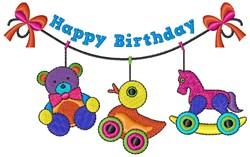 Happy Birthday embroidery design
