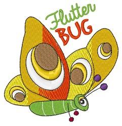 Flutter Bug embroidery design