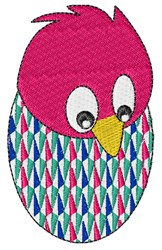 Chick Hatching embroidery design