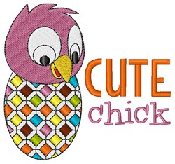 Cute Chick embroidery design