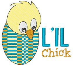 Lil Chick embroidery design