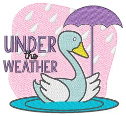 Under THe Weather embroidery design