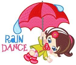 Rain Dance embroidery design