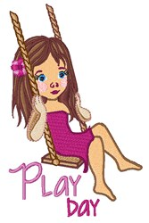 Play Day embroidery design