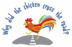 Chicken Joke embroidery design