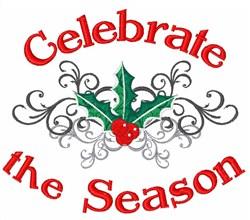 Celebrate the Season embroidery design