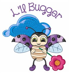 Lil Bugger embroidery design