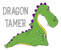 Dragon Tamer embroidery design
