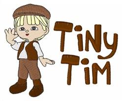 Tiny Tim embroidery design