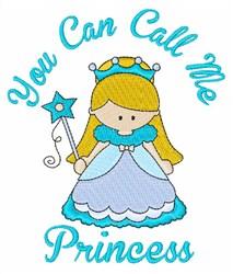 Call Me Princess embroidery design